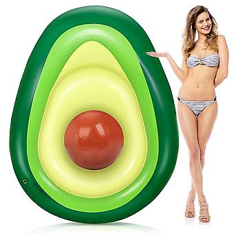 Inflatable Avocado Pool Float Floatie With Ball , Party Toys For Kids Adults