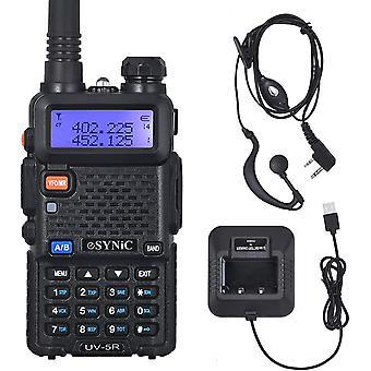 FengChun UV-5R Walkie Talkie Dualband VHF / UHF mit LED-Anzeige 128 Speicherkanal mit blinkendem