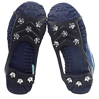 Anti-skid piikit kramppi jäänvastainen kengät liukukahvat