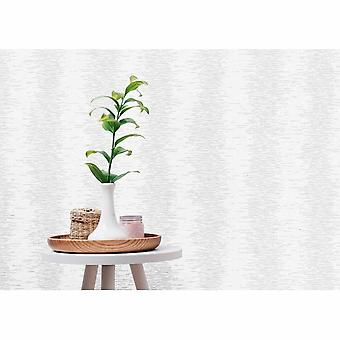 P&S International Barcode Style Striped Linear Metallic Non-Woven Washable Ivory Wallpaper