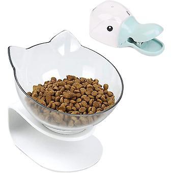 Futternäpfe Katzenfutter, mit Erhöhtem Ständer- rutschfeste KatzenschaleŒKreative rutschfeste