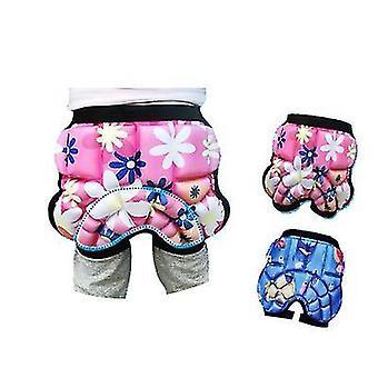 Pink child kid hip soft pad protector snow boarding cycling roller skating skiing x4690