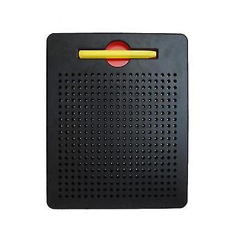 S zwarte plastic stalen bal magnetische tekentafel kinderspeeltje az5176