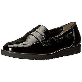 Paul Green Womens Nico Lfr Leather Almond Toe Loafers