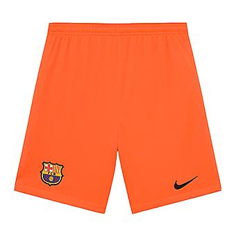 2021-2022 Barcelona Domáce brankárske šortky (Orange)