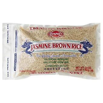 Dynasty Rice Jasmine Brown, Case of 12 X 2 lb