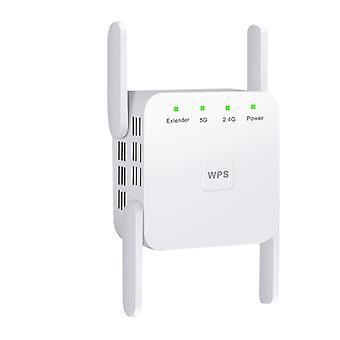 מגבר אותות אנטנה,2.4 5G מאריך מאריך אלחוטי פס כפול 1200M מגבר מאיץ WiFi
