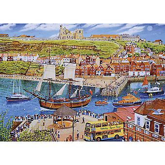 Gibsons Endeavour, Whitby pussel (1000 stycken)