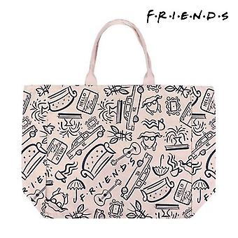 Bag Friends Handles Beige