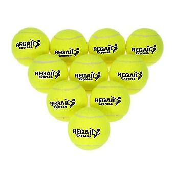 Теннисные мячи 10шт / сумка теннисный тренировочный мяч практика высокой устойчивости тренировка прочный теннисный мяч тренировочные мячи для начинающих соревнований