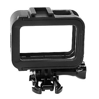 Protective Frame Case Shell Side Open with Cold Shoe for GoPro Hero 8 Black Action Sports Camera