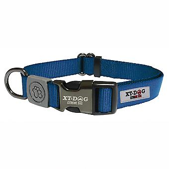 Xt-Dog Classic Nylon Collar Blue (Dogs , Collars, Leads and Harnesses , Collars)