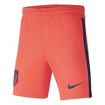 2021-2022 Atletico Madrid Away Shorts (Laser Crimson) - Kids