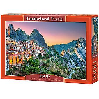 Castorland, Puzzle - Castelmezzano - 1500 Pieces