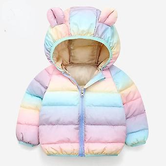 Baby's herfst en winter katoenen jas