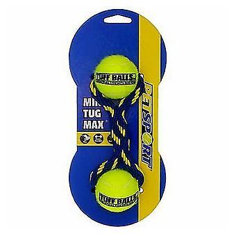 Petsport Tug Max Mini Tuff Balls Dog Toy - 1 Pack