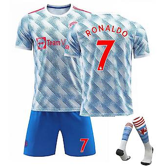 Cristiano Ronaldo Manchester United Jersey, Jersey No.7 Away (adult Suit)
