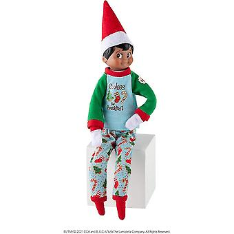 Elf On The Shelf  Elf On The Shelf  Claus Couture - Yummy Cookies PJs - (Scout Elf Not Included)