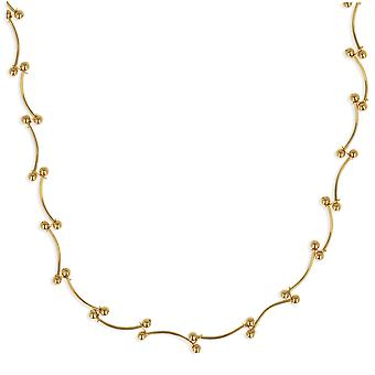 Aden Gold Plated Necklace 45cm (id 3644)