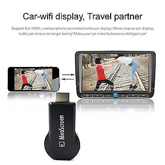 Mirascreen 2.4g TV Stick Смарт ТВ Ключ Hd 1080p Видео ресивер Дисплей