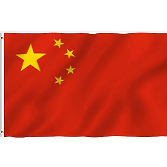العلم الصيني 90x150 سم، 3x5 قدم، الديكور في الهواء الطلق