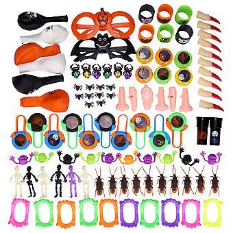 100pcs Halloween Party Toys Set