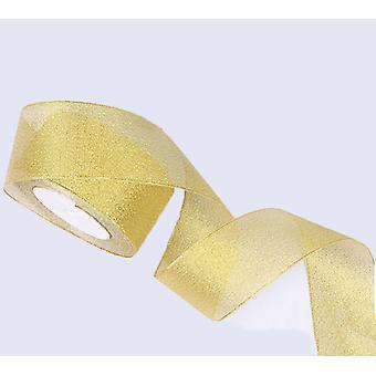 Trblietky s trblietavou stuhou, používa sa na darčekovú krabičku Butterfly Handmade Diy (a)