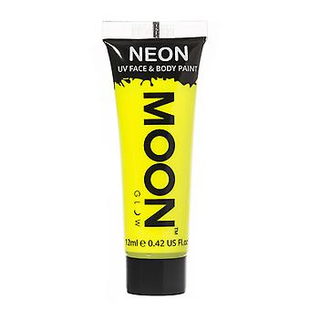 Moon Glow - 12ml Neon UV Face & Body Paint - Intense Yellow