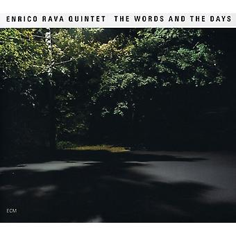 Enrico Rava - Words & the Days [CD] USA import