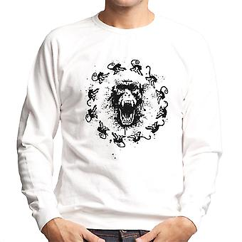 Monkey Fever 12 Monkeys Men's Sweatshirt
