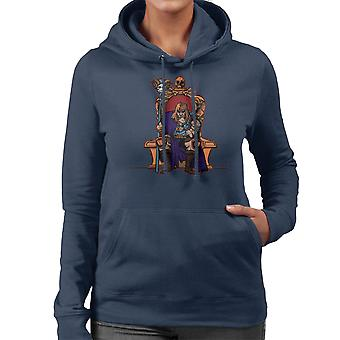 King Of Eternia He Man Masters Of The Universe Women's Hooded Sweatshirt