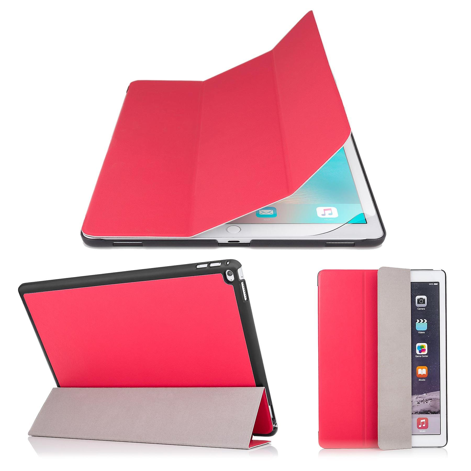 Smart Cover case + stylus for Apple iPad Pro 9.7 inch (2016) - Red