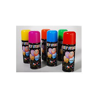 Party favors  Serpentine spray