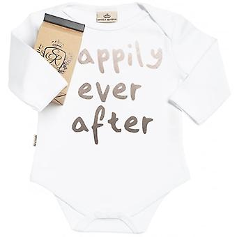 Spoilt Rotten Happily Ever After Long Sleeve Baby Grow