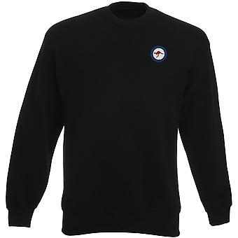 Royal Australian Air Force RAAF Roundel Stickerei Logo - Schwergewichts-Sweatshirt