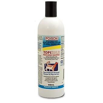 Topizole médicamenteux shampoing 500ml