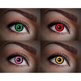 UV contact lens black light