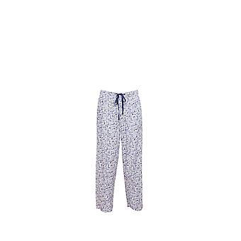 Męskie Cyberjammies 6207 Ben biały motyw piżamy spodnie