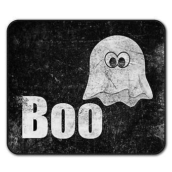 Ghost Cartoon Cute  Non-Slip Mouse Mat Pad 24cm x 20cm | Wellcoda