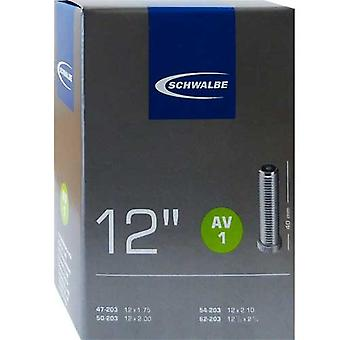 SCHWALBE AV 1 cykel tube 12″