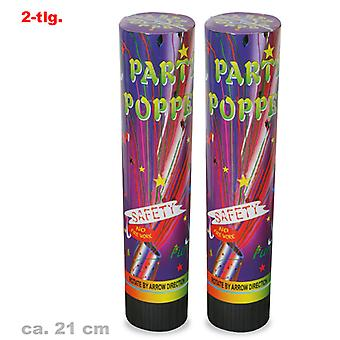 Partij Popper confetti shooter