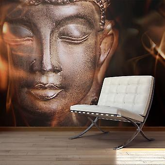 Fototapetti - Buddha. Fire of meditation.