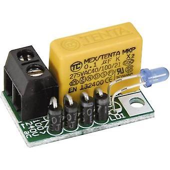Kit de montagem Velleman MK181 LED versão: Assembly kit 110 V AC, 240 V AC