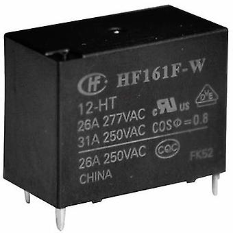 Hongfa HF161F-W/012-HT PCB relay 12 VDC 31 A 1 Maker 1 PC (s)