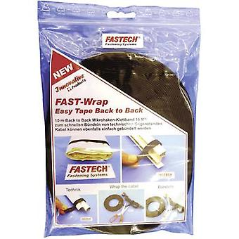 Fastech 702-330-Bag Hook-and-loop tape for houseplants and garden Hook and loop pad (L x W) 10000 mm x 16 mm Black 1 Rolls