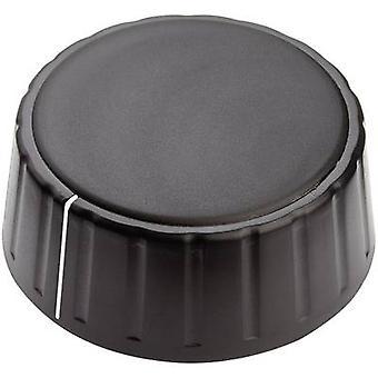 Mentor 4335.6001 Control knob + hand Black (Ø x H) 48 mm x 19 mm 1 pc(s)