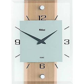 ساعة حائط الزان الكوارتز الكلاسيكية