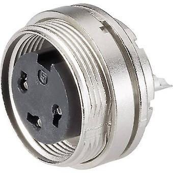 Nide 09-0308-80-03 sarjan 682 miniatyyri pyöreä liitin nimellisvirrasta (tiedot): 7 A nastojen määrä: 3 DIN