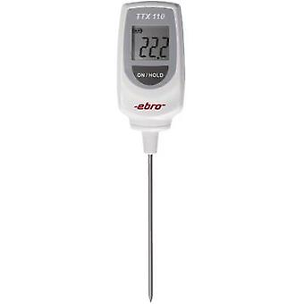 ebro TTX 110 Probe thermometer (HACCP) Temperature reading range -50 up to 350 °C Sensor type T Complies with HACCP standards