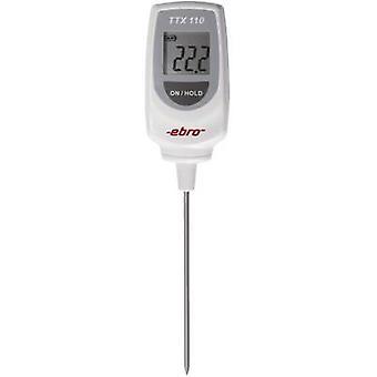 ebro TTX 110 مقياس الحرارة التحقيق (HACCP) درجة الحرارة مجموعة القراءة -50 تصل إلى 350 درجة مئوية نوع استشعار T يتوافق مع معايير HACCP